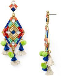 Rebecca Minkoff - Geometric Star Earrings - Lyst