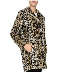 The Kooples - Leo Is Back Faux-fur Coat - Lyst