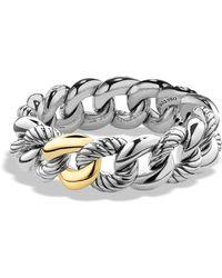 David Yurman - Belmont Bracelet With 18k Gold - Lyst