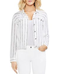 Vince Camuto - Lightweight Pinstriped Jacket - Lyst