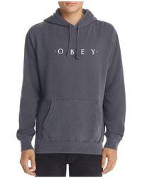 Obey - Novel Hooded Sweatshirt - Lyst