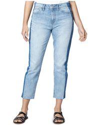 Sanctuary - Vintage Straight-leg Shadow Jeans In Lori Wash - Lyst