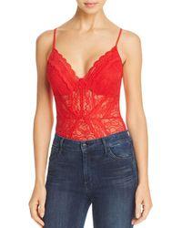 Guess - Nea Lace Bodysuit - Lyst