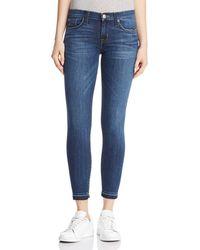 Hudson Jeans - Krista Crop Skinny Jeans In Dream On - Lyst