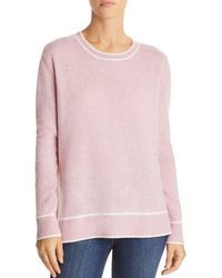 C By Bloomingdale's - Tipped Cashmere Jumper - Lyst