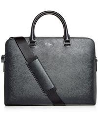 Michael Kors - Harrison Crossgrain Leather Briefcase - Lyst