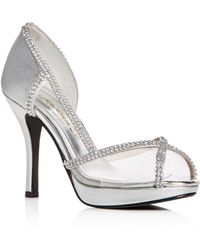 0aeebfedcc10 Caparros Platform Evening Sandals - Precious High High Heel in Black ...