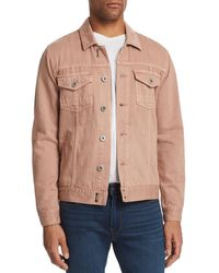 PAIGE - Scout Denim Trucker Jacket - Lyst