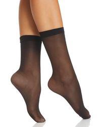 Fogal - All Nude Sheer 10 Denier Ankle Socks - Lyst