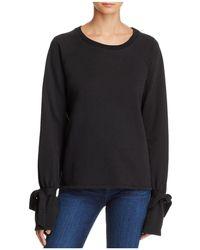 PAIGE - Calandra Tie-sleeve Sweatshirt - Lyst