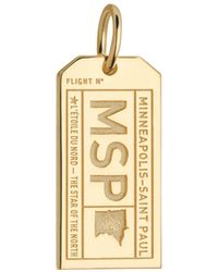 Jet Set Candy - Minnesota Msp Luggage Tag Charm - Lyst