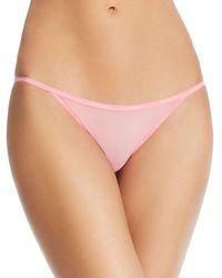 Calvin Klein - Sheer Marquisette String Bikini - Lyst