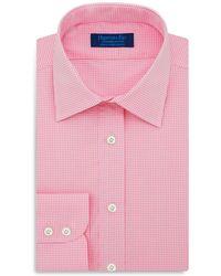 Hilditch & Key - Fine Check Regular Fit Dress Shirt - Lyst
