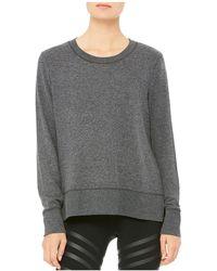 Alo Yoga - Glimpse Sweatshirt - Lyst