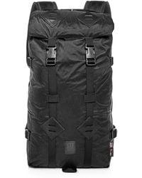 Topo Designs - Klettersack Cordura® & Diamond Pattern Nylon Backpack - Lyst