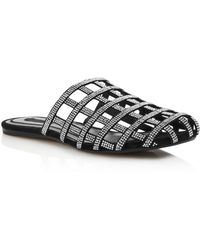 Alexander Wang - Women's Alison Diamante Caged Flats - Lyst