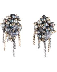 Alexis Bittar - Fringed Cluster Stud Earrings - Lyst