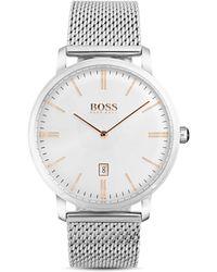 BOSS - Hugo Boss Tradition Watch, 40mm - Lyst