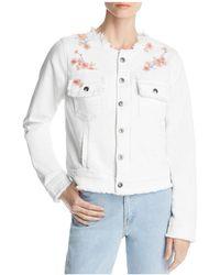 Billy T - Embroidered Denim Jacket - Lyst