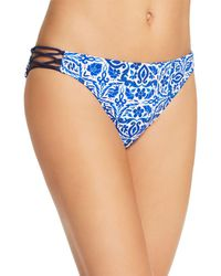 Nanette Lepore - Talavera Charmer Bikini Bottom - Lyst