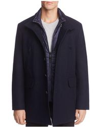 Cole Haan - Melton Three-in-one Topper Coat - Lyst