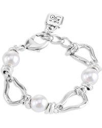 Uno De 50 - Perla Mosqueta Link Bracelet - Lyst