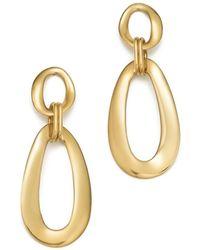 Ippolita - 18k Yellow Gold Cherish Link Drop Earrings - Lyst