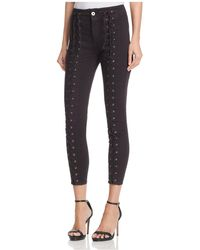 Pistola - Lace-up Skinny Jeans In Hit The Pavement - Lyst