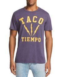 Chaser - Taco Tiempo Graphic Tee - Lyst