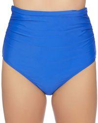 Athena - Fold-over High-waist Bikini Bottom - Lyst