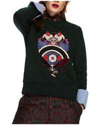 Scotch & Soda | Appliqué Sweatshirt | Lyst