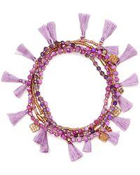 Kendra Scott - Julie Tasselled Bracelet - Lyst