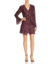 Parker - Kimberly Bell Sleeve Dress - Lyst