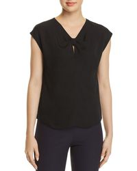 Rebecca Taylor - Natalie Silk Top - Lyst