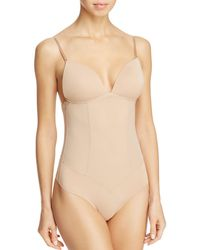 Fine Lines - Refined Convertible Backless Thong Bodysuit Shapewear - Lyst