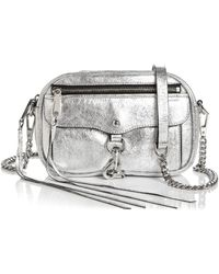 Rebecca Minkoff - Blythe Small Leather Crossbody - Lyst