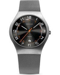 Bering - Titanium 11937-007 Grey 37 Mm Men's Watch - Lyst