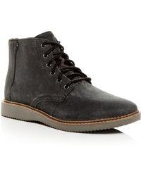TOMS - Men's Porter Water - Resistant Nubuck Leather Boots - Lyst