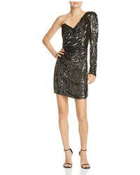 Parker - Molly One-shoulder Sequined Mini Dress - Lyst 48e8d987a