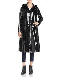 Jane Post - Long Snap Slicker Raincoat - Lyst