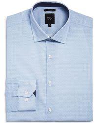 W.r.k. - Square Dot Slim Fit Dress Shirt - Lyst