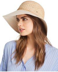 ce3e4a9f8c9087 Helen Kaminski Provence 8 Raffia Hat in Natural - Lyst