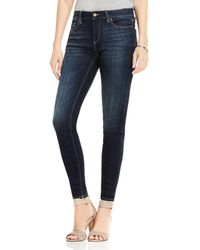 Vince Camuto - Skinny Jeans In Dark Authentic - Lyst