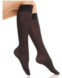 Fogal - Opaque Knee Socks - Lyst