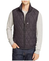 Marc New York - Fitch Quilted Vest - Lyst