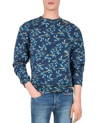 The Kooples - Palm Tree Sweatshirt - Lyst