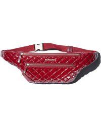 MZ Wallace - Crosby Lacquer Nylon Belt Bag - Lyst