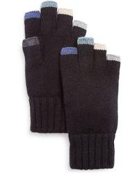 Bloomingdale's - Anya Cashmere Fingerless Gloves - Lyst