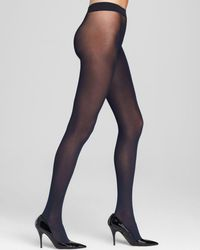 Hue - Seamless Opaque Tights - Lyst