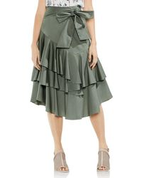 Vince Camuto - Asymmetric Tiered Ruffle Skirt - Lyst